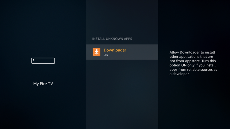 That's it! You can now jailbreak firestick with 3rd party apps using Downloader on your Firestick/Fire TV.