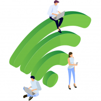 If you ever travel and connect to public WiFi hot-spots, you should ALWAYS connect to the access point through a VPN service.