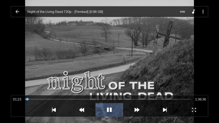 That's it! You will now use MX Player to stream content within Cinema apk