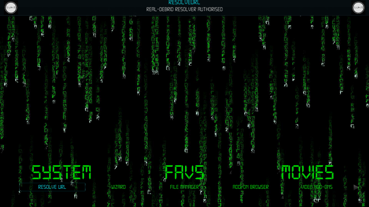 That's it! You have integrated Real-Debrid within the Matrix Kodi Build.