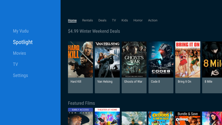 That's it! You have installed Vudu on Firestick using the Amazon App Store.
