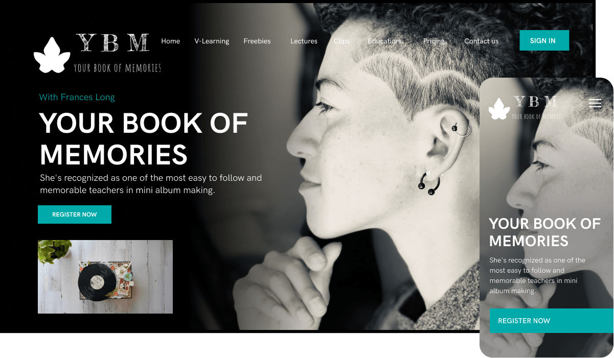 Your Book of Memories Streaming Service
