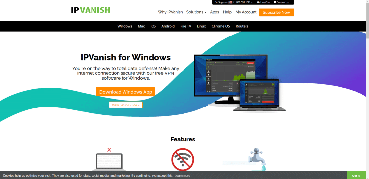Since we are using a Windows PC that option shows up by default. Click Download Windows App.