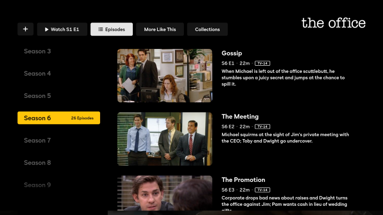 That's it! You can now watch The Office for free on your Firestick/Fire TV.