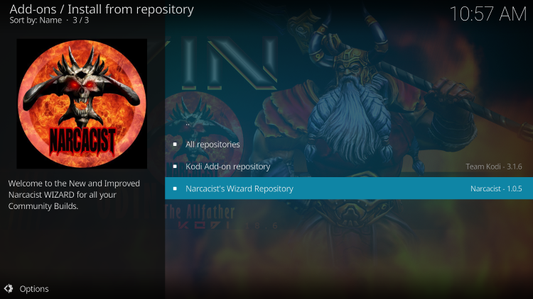 narcacist's wizard repository