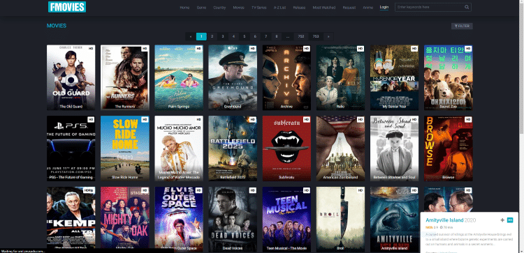 Using the FMovies site on a PC, tablet, or mobile device may be the easiest method of using the site for movies & TV shows.