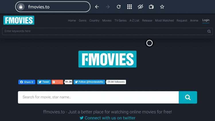 That's it! You are now able to use FMovies on your Firestick/Fire TV device with the Silk Browser.