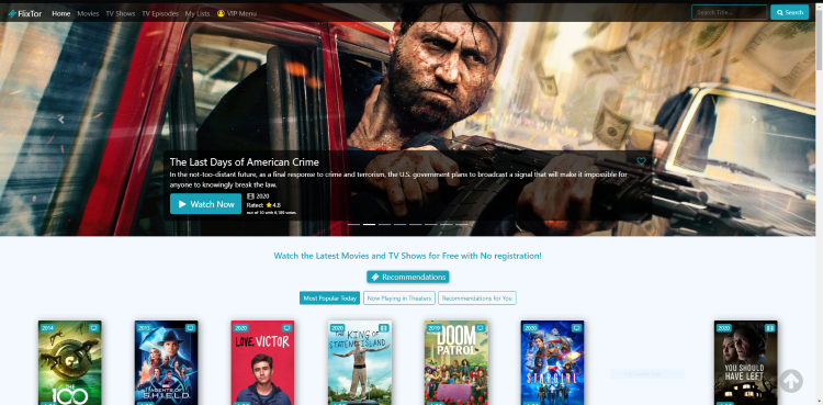 Using FlixTor on a PC, tablet, or mobile device may be the simplest method of using the site for movies & TV shows.