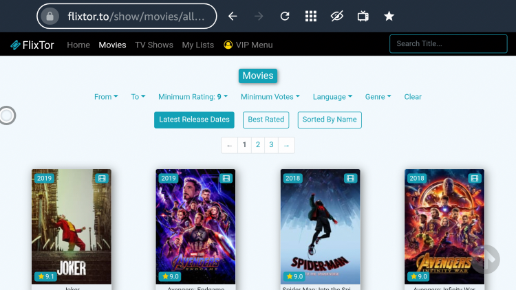 Enjoy streaming movies and TV shows using FlixTor!
