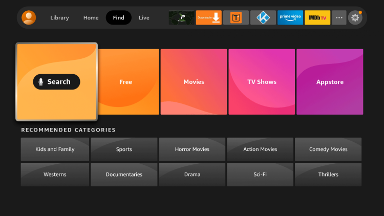 In this report, I will be visiting FootyBite on a Fire TV Stick Liteusing theSilk Browser.