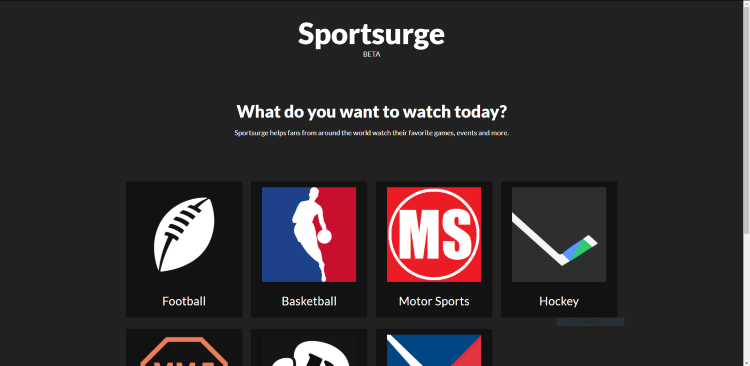 sportsurge best free sports streaming sites