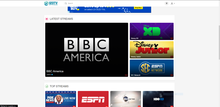 123tv live tv streaming sites