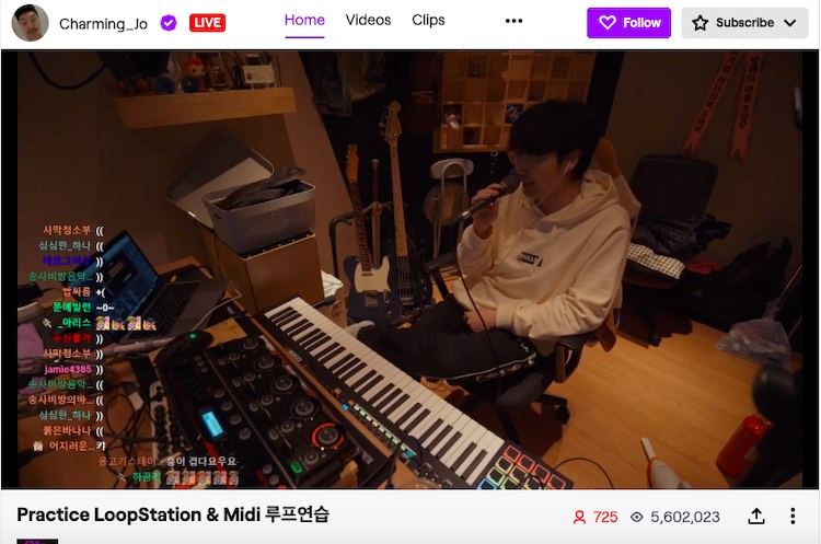 Twitch SoundCloud indie music livestream