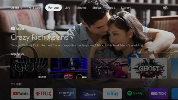 """This updated version of the Chromecast comes with an included remote, a new """"Google TV"""" operating system, and lets users install apps directly on the device for all-inclusive streaming."""
